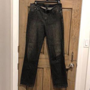Ralph Lauren Jeans Co Size 6 Black Denim